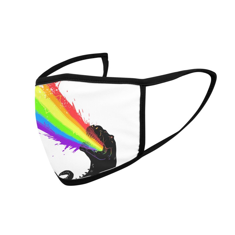 Technicolour Rex Accessories Face Mask by Threadless Artist Shop