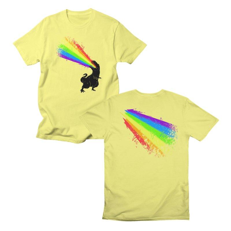 Technicolour Rex Men's T-Shirt by Threadless Artist Shop
