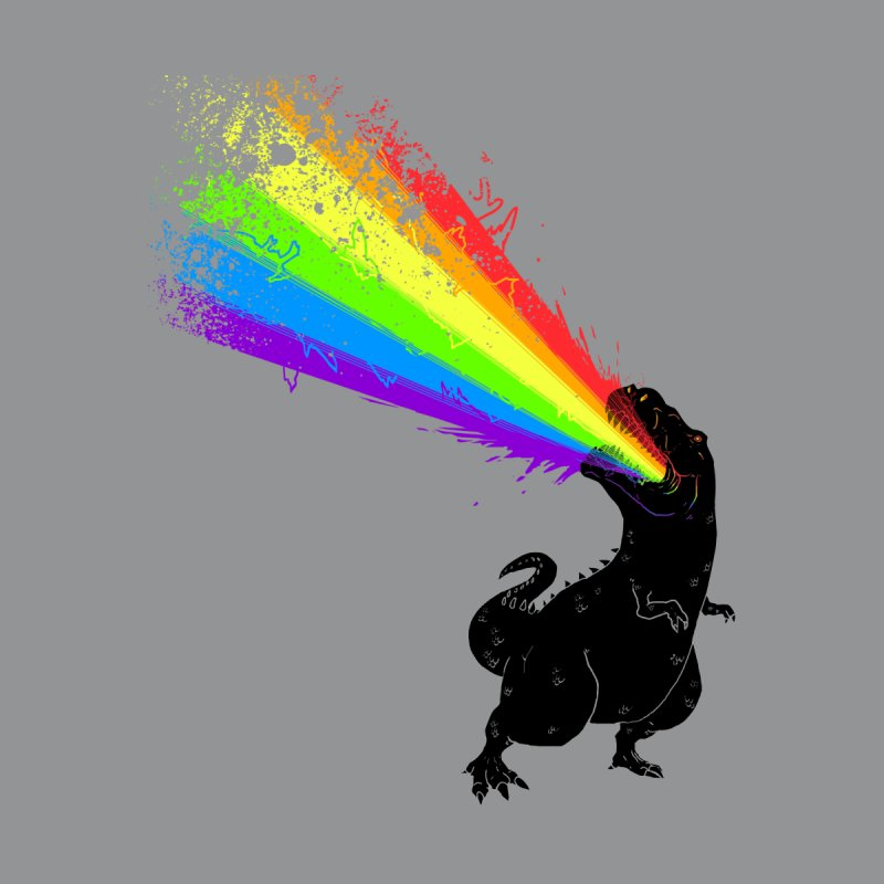 Technicolour Rex Kids Toddler T-Shirt by Threadless Artist Shop