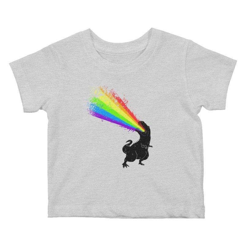 Technicolour Rex Kids Baby T-Shirt by Threadless Artist Shop