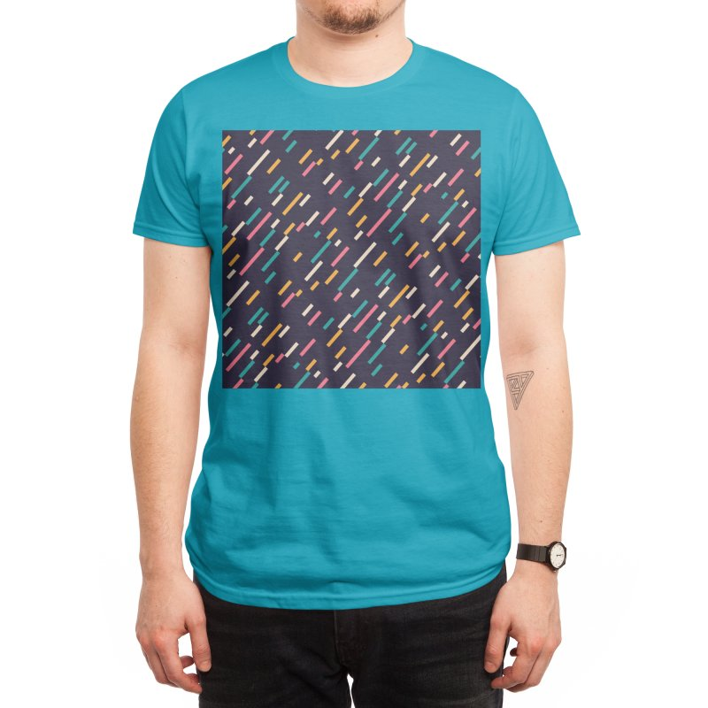 Hectic Rain Men's T-Shirt by Threadless Artist Shop