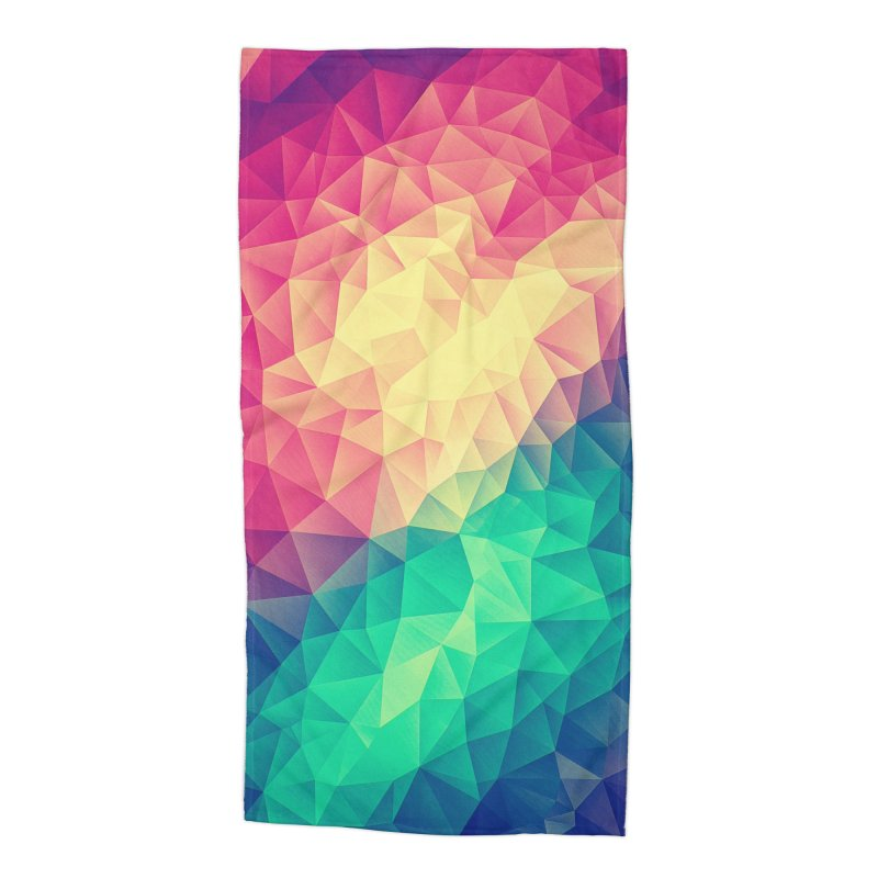 Color Bomb! Accessories Beach Towel by Threadless Artist Shop