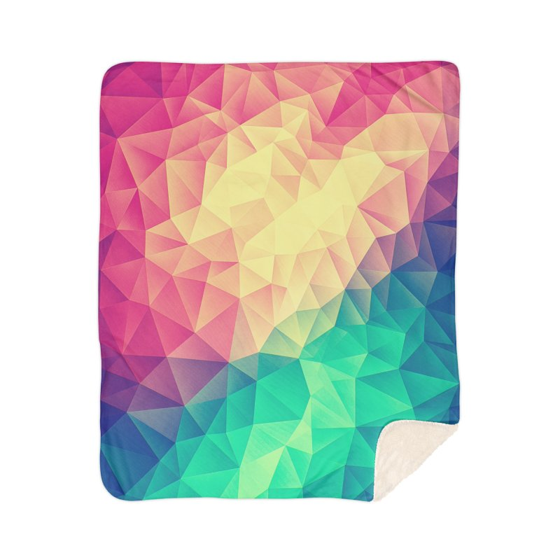 Color Bomb! Home Blanket by Threadless Artist Shop