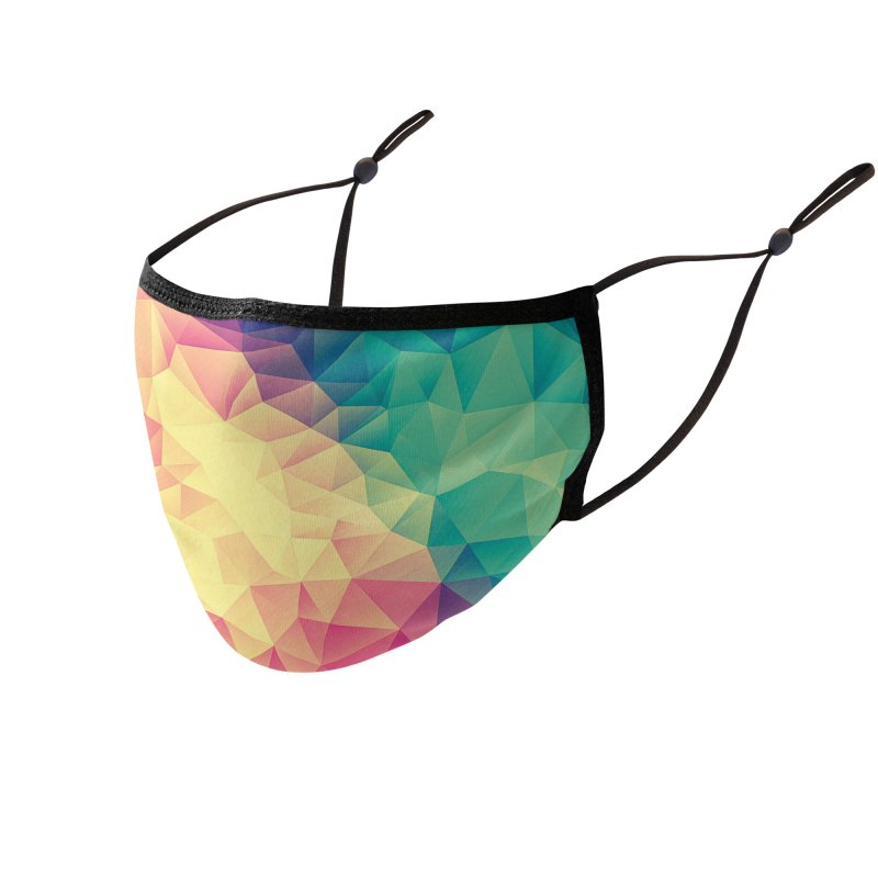 Color Bomb! Accessories Face Mask by Threadless Artist Shop