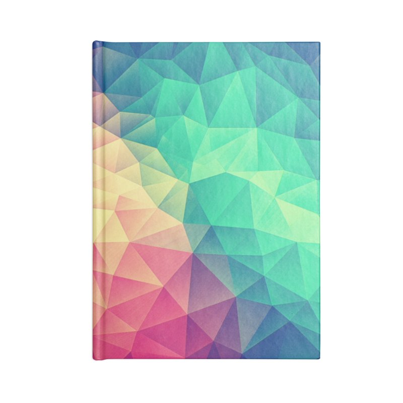 Color Bomb! Accessories Notebook by Threadless Artist Shop