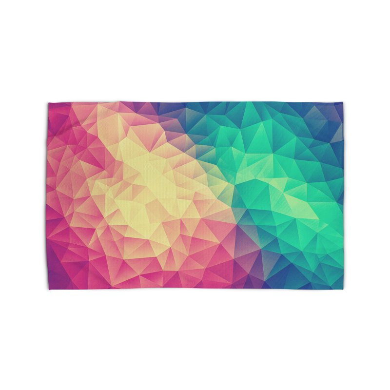 Color Bomb! Home Rug by Threadless Artist Shop