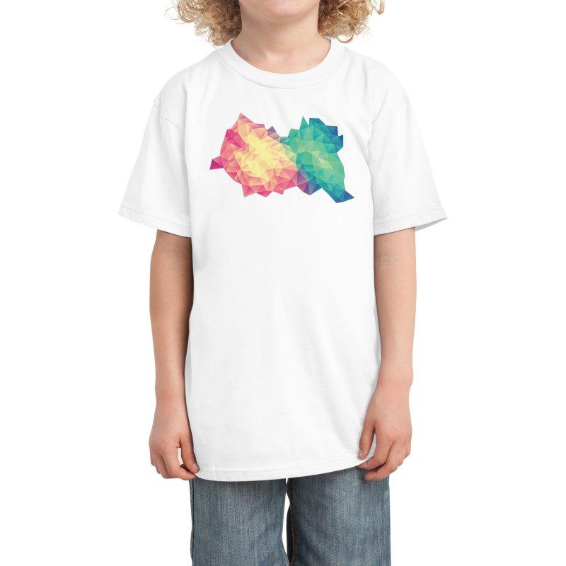 Color Bomb! Kids T-Shirt by Threadless Artist Shop