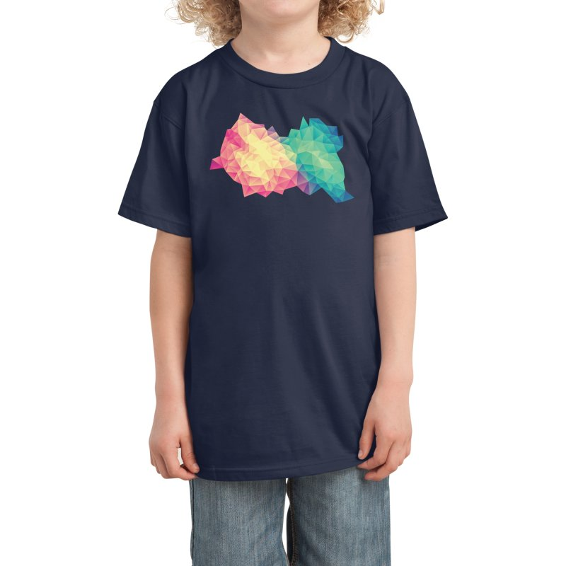 Color Bomb! Kids T-Shirt by Threadless Artist Shop