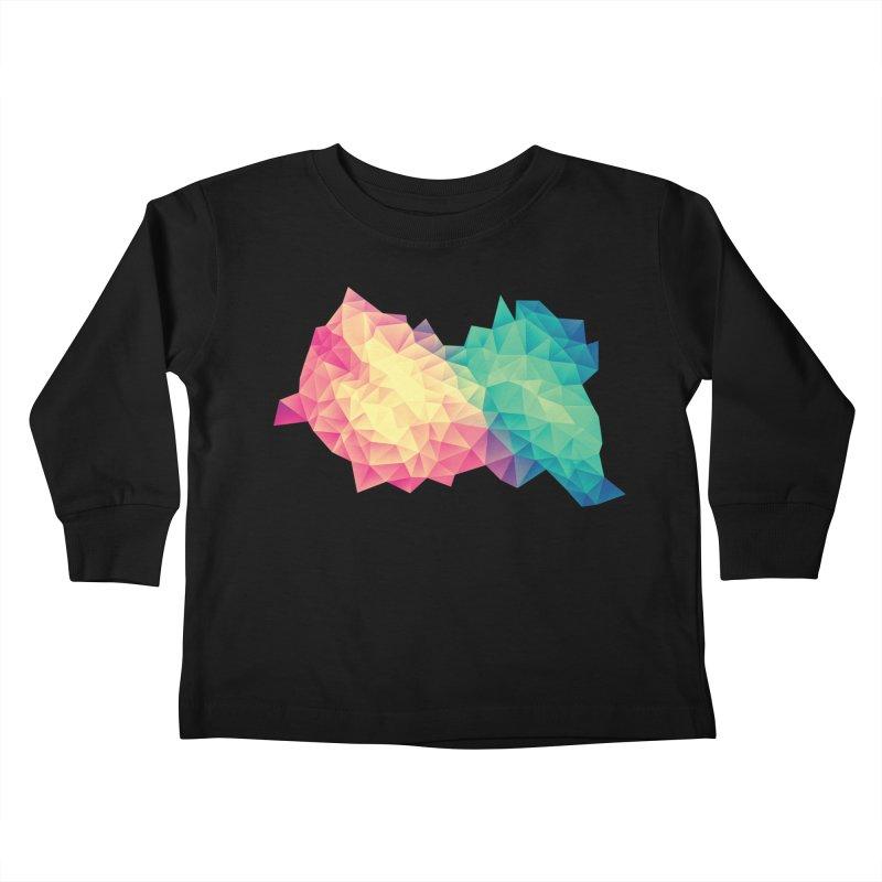 Color Bomb! Kids Toddler Longsleeve T-Shirt by Threadless Artist Shop