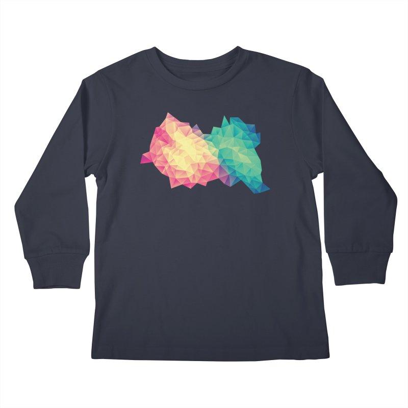 Color Bomb! Kids Longsleeve T-Shirt by Threadless Artist Shop