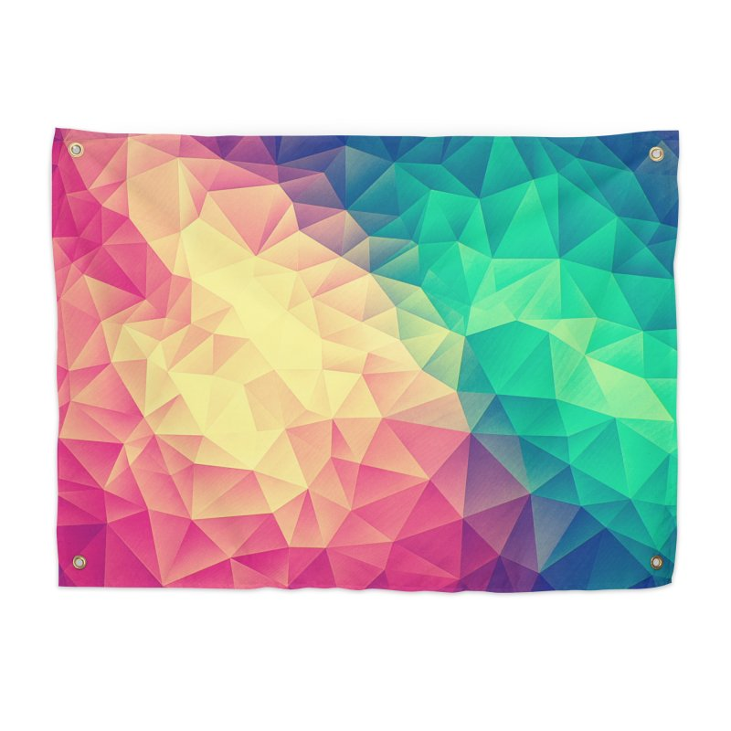 Color Bomb! Home Tapestry by Threadless Artist Shop
