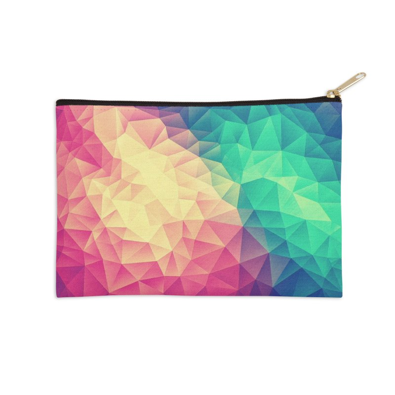 Color Bomb! Accessories Zip Pouch by Threadless Artist Shop