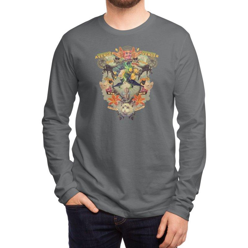 Meowosaurus Men's Longsleeve T-Shirt by Threadless Artist Shop