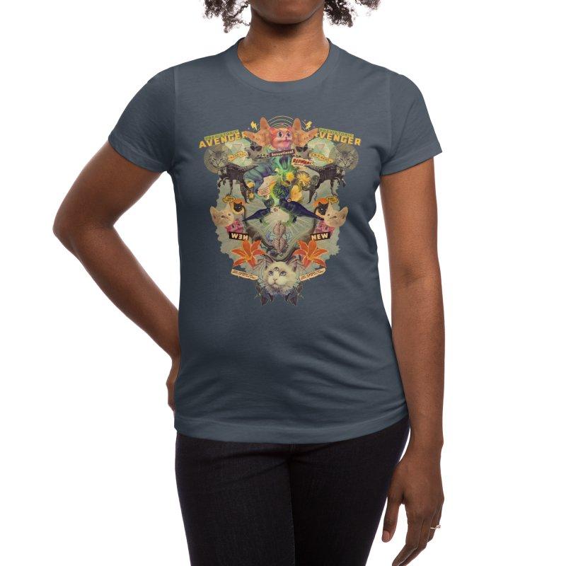 Meowosaurus Women's T-Shirt by Threadless Artist Shop