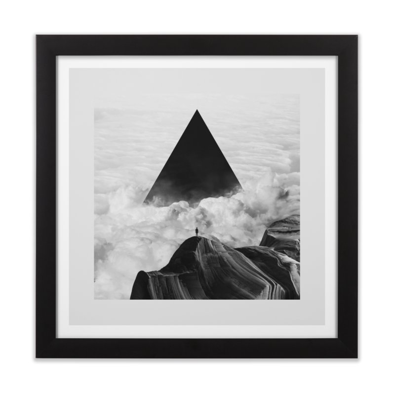 We Never Had It Anyway Home Framed Fine Art Print by Threadless Artist Shop