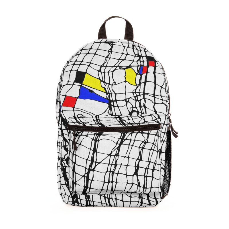 Drunk Mondrian Accessories Bag by Threadless Artist Shop