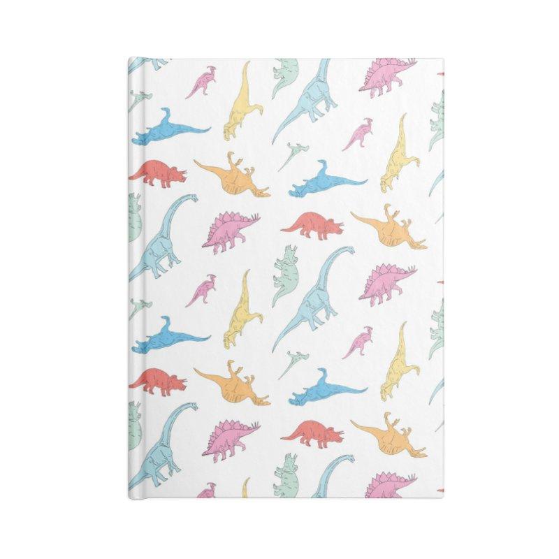 Dino Accessories Notebook by Threadless Artist Shop