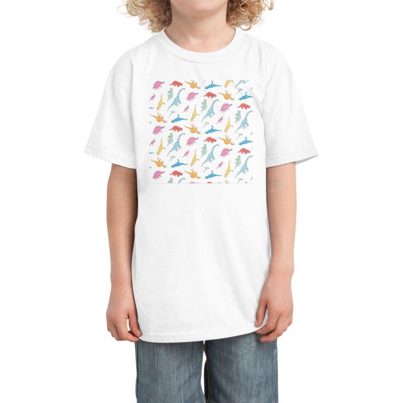 Dino Kids T-Shirt by Threadless Artist Shop