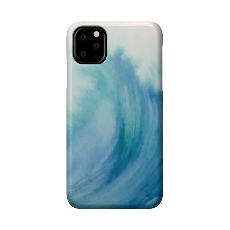 Watercolor Wave Accessories Phone Case by Threadless Artist Shop