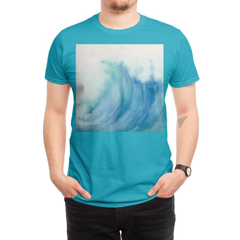 Watercolor Wave Men's T-Shirt by Threadless Artist Shop