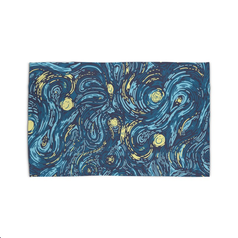 Starry Pattern Home Rug by Threadless Artist Shop