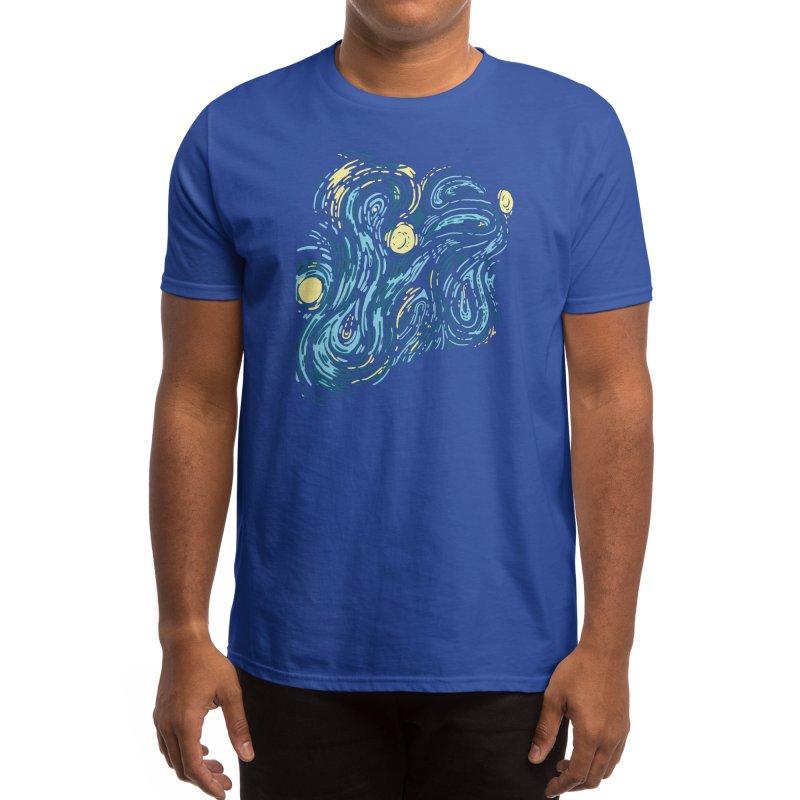 Starry Pattern Men's T-Shirt by Threadless Artist Shop