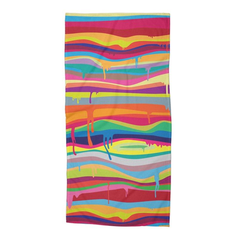 The Melting Accessories Beach Towel by Threadless Artist Shop