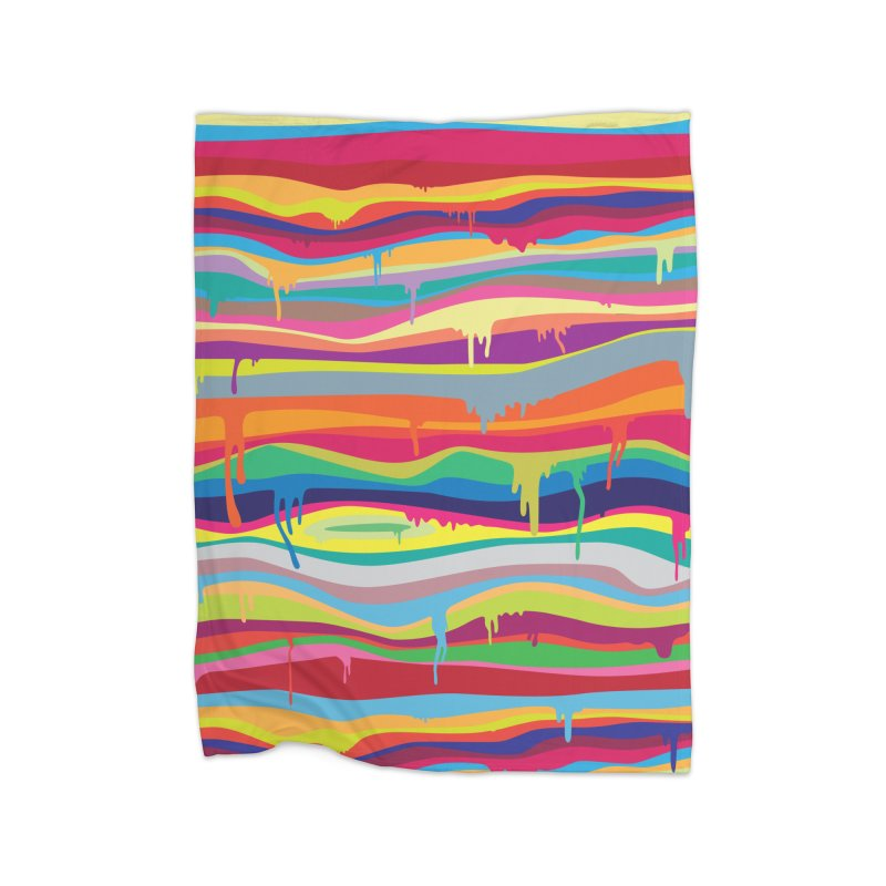 The Melting Home Blanket by Threadless Artist Shop