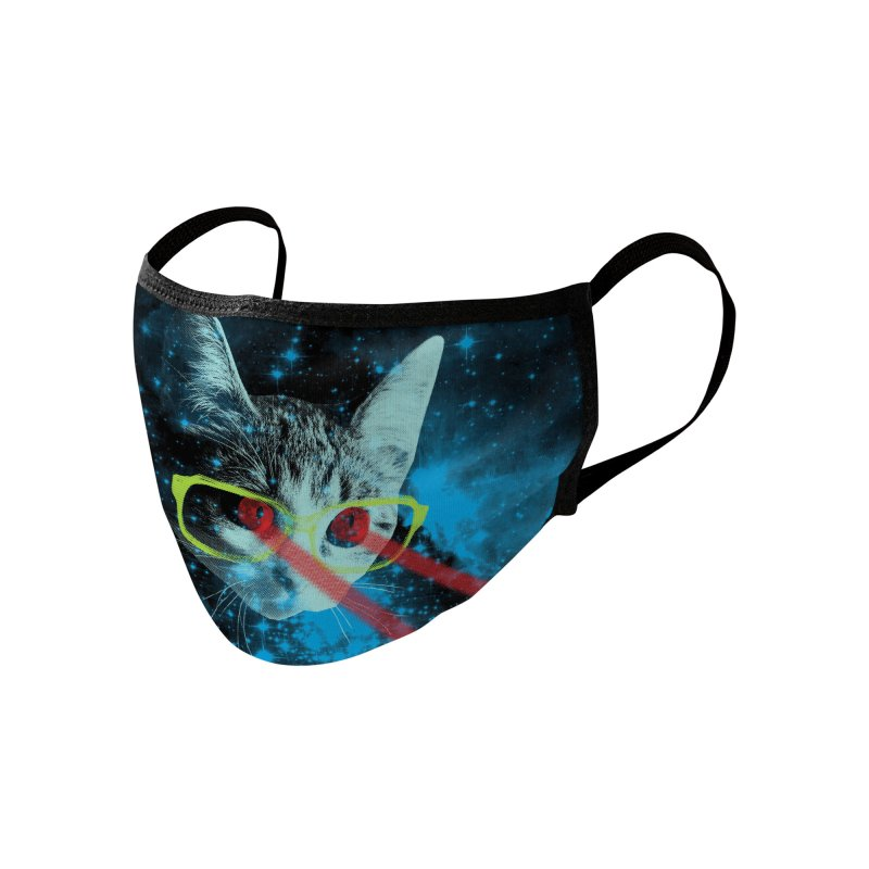 Mister Mittens' Big Adventure Accessories Face Mask by Threadless Artist Shop