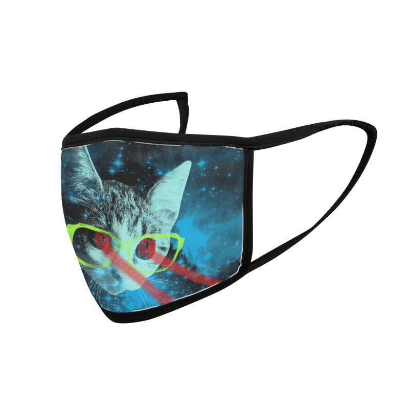 Mister Mittens' Big Adventure Accessories Face Mask by Threadless Artist Shop