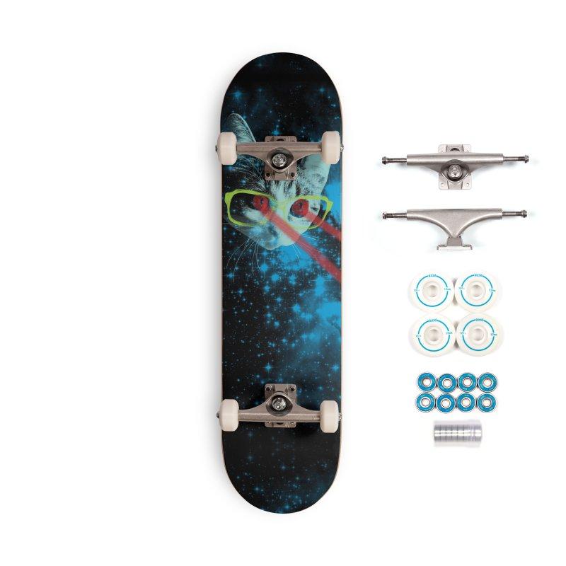 Mister Mittens' Big Adventure Accessories Skateboard by Threadless Artist Shop