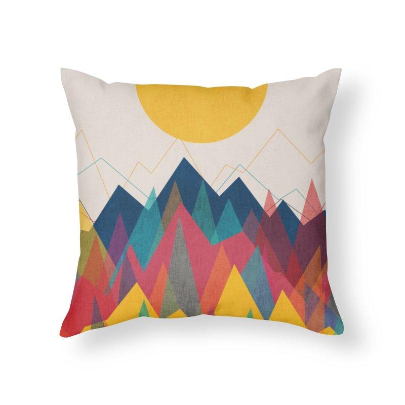 Uphill Battle Home Throw Pillow by Threadless Artist Shop
