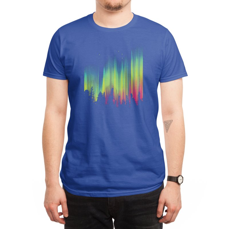 Electric Sky Men's T-Shirt by Threadless Artist Shop