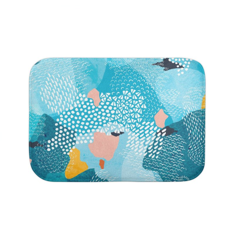 Calm Home Bath Mat by Threadless Artist Shop