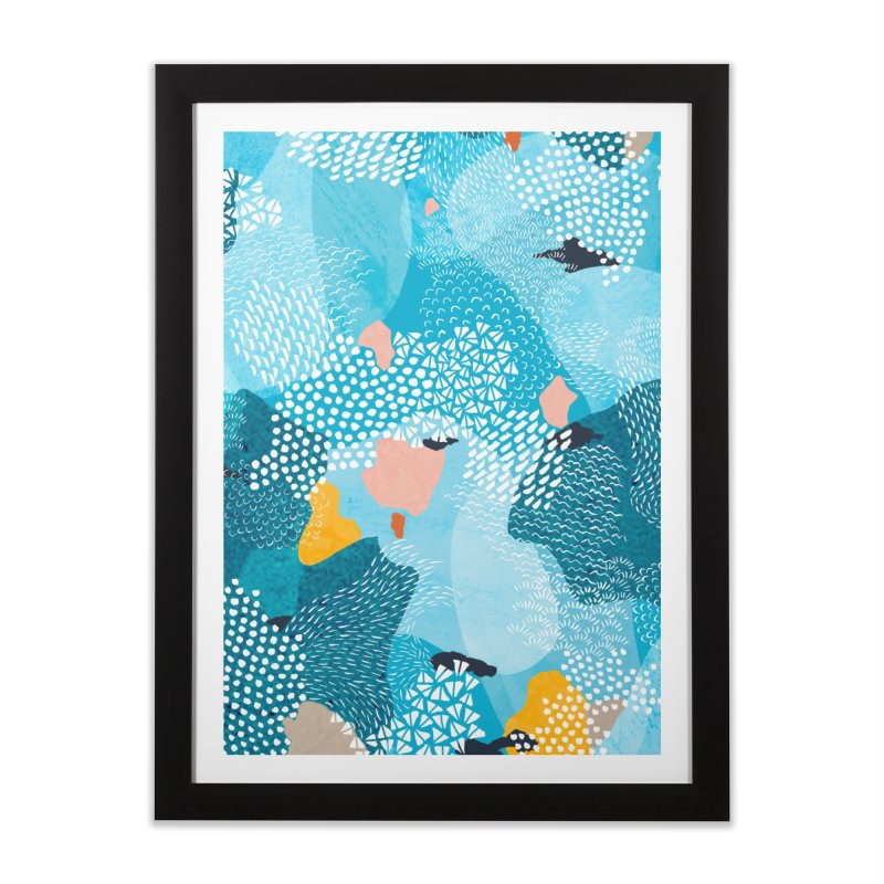 Calm Home Framed Fine Art Print by Threadless Artist Shop