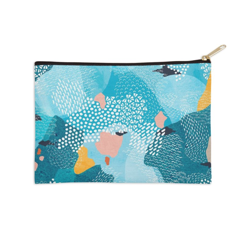 Calm Accessories Zip Pouch by Threadless Artist Shop