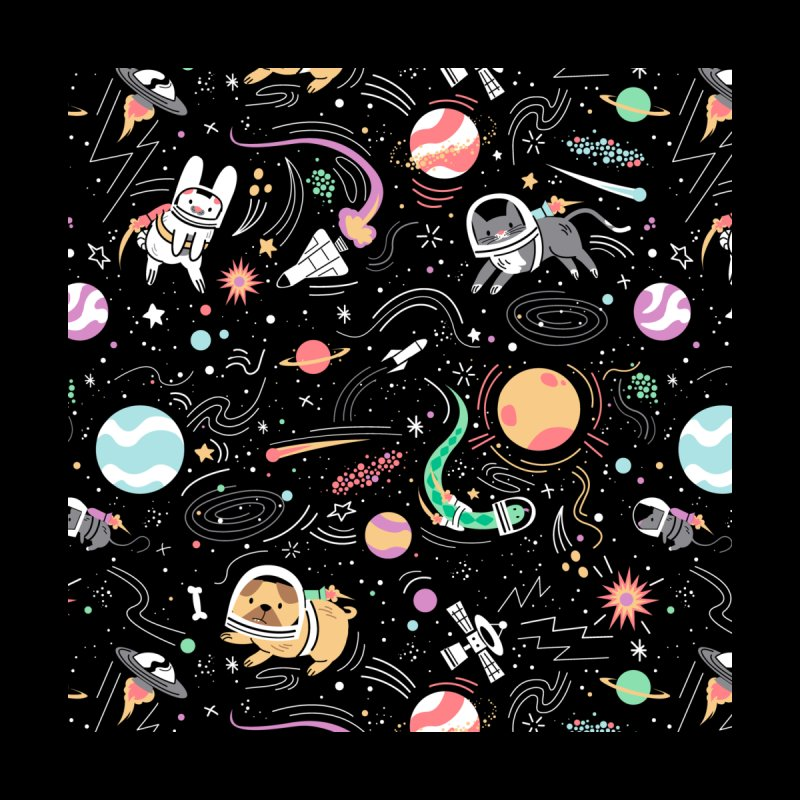 Space Pets Home Throw Pillow by Threadless Artist Shop