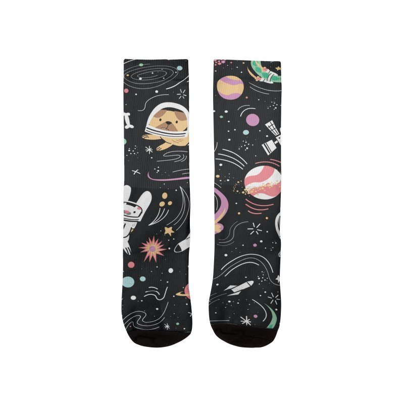 Space Pets Women's Socks by Threadless Artist Shop