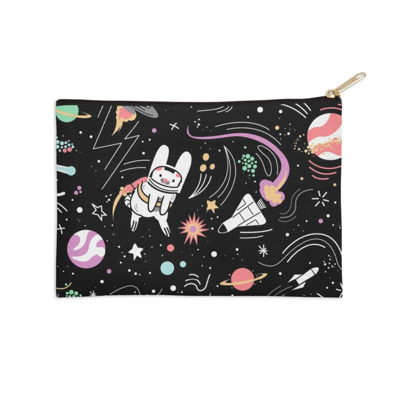 Space Pets Accessories Zip Pouch by Threadless Artist Shop
