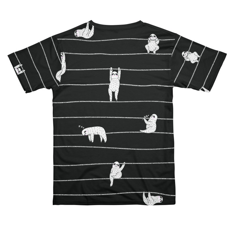 Sloth Stripe Women's Cut & Sew by Threadless Artist Shop