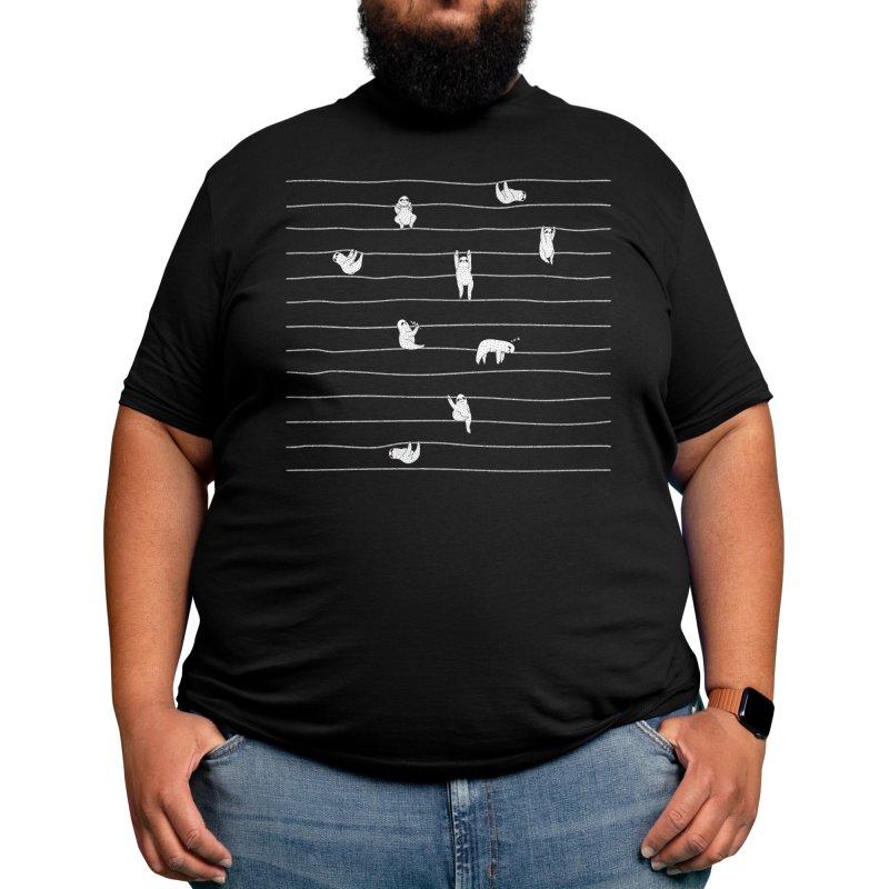 Sloth Stripe Men's T-Shirt by Threadless Artist Shop