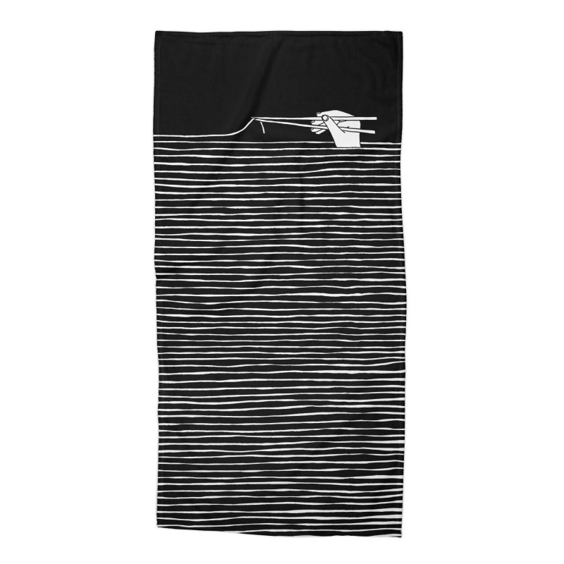 Noodles are forever Accessories Beach Towel by Threadless Artist Shop
