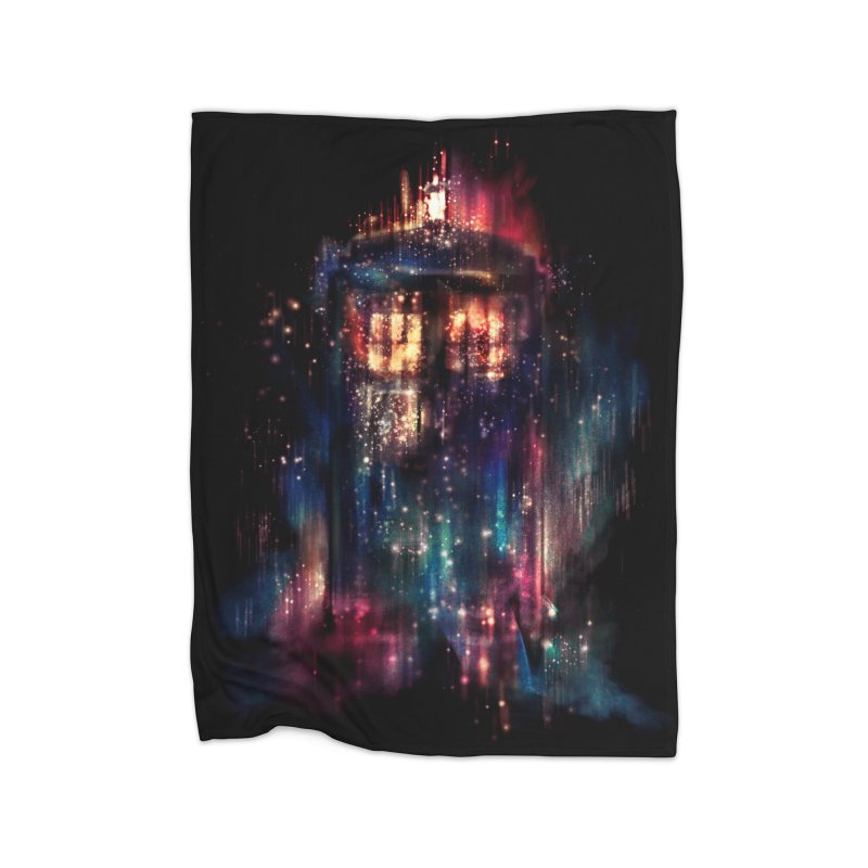 All of Time and Space Home Blanket by Threadless Artist Shop