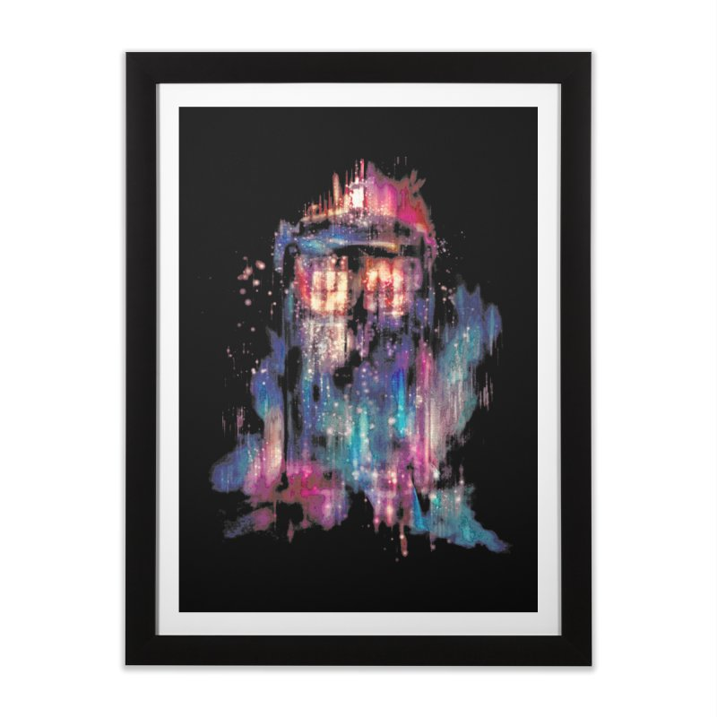 All of Time and Space Home Framed Fine Art Print by Threadless Artist Shop