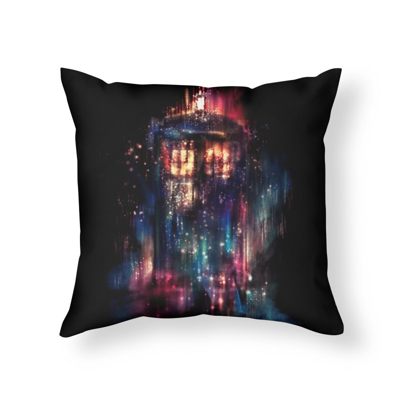 All of Time and Space Home Throw Pillow by Threadless Artist Shop