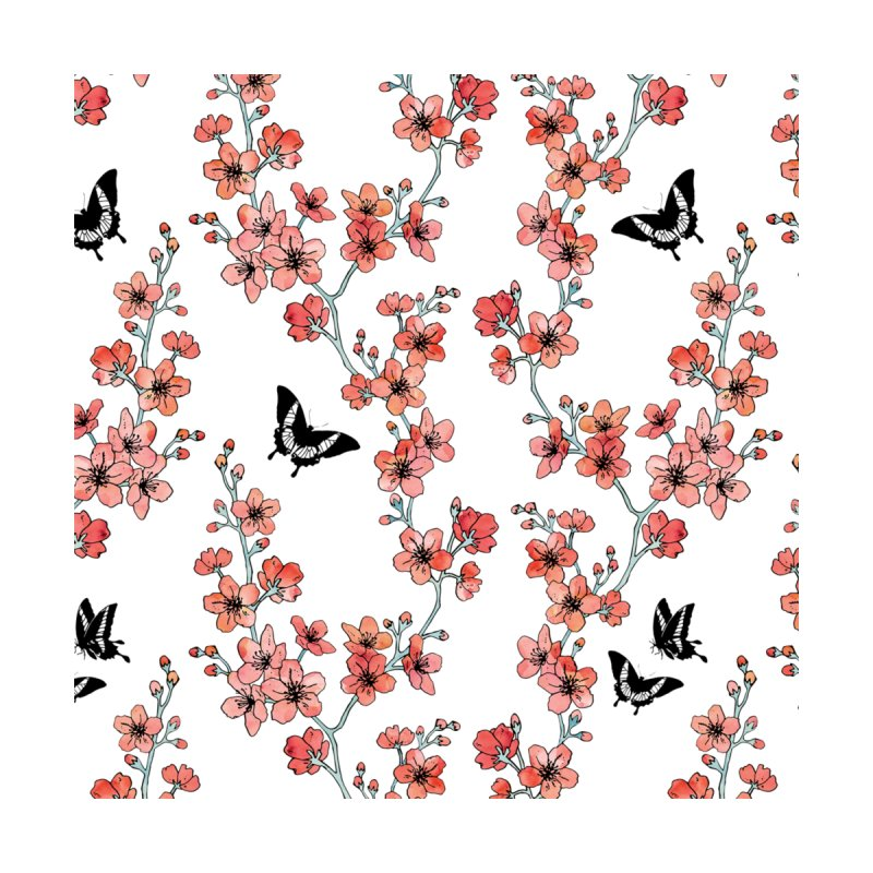 Sakura Butterflies Men's T-Shirt by Threadless Artist Shop