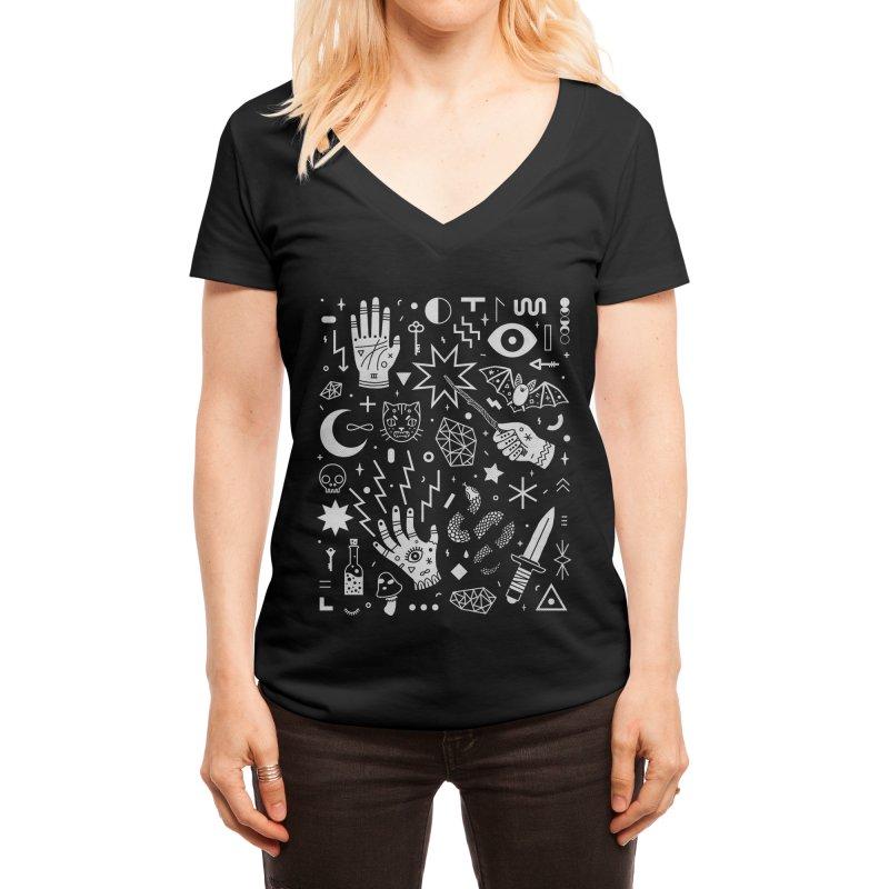 Witchcraft Women's V-Neck by Threadless Artist Shop