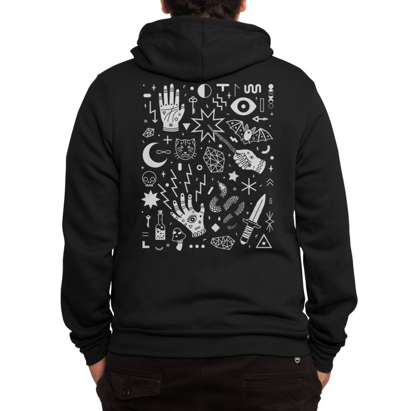 Witchcraft Men's Zip-Up Hoody by Threadless Artist Shop