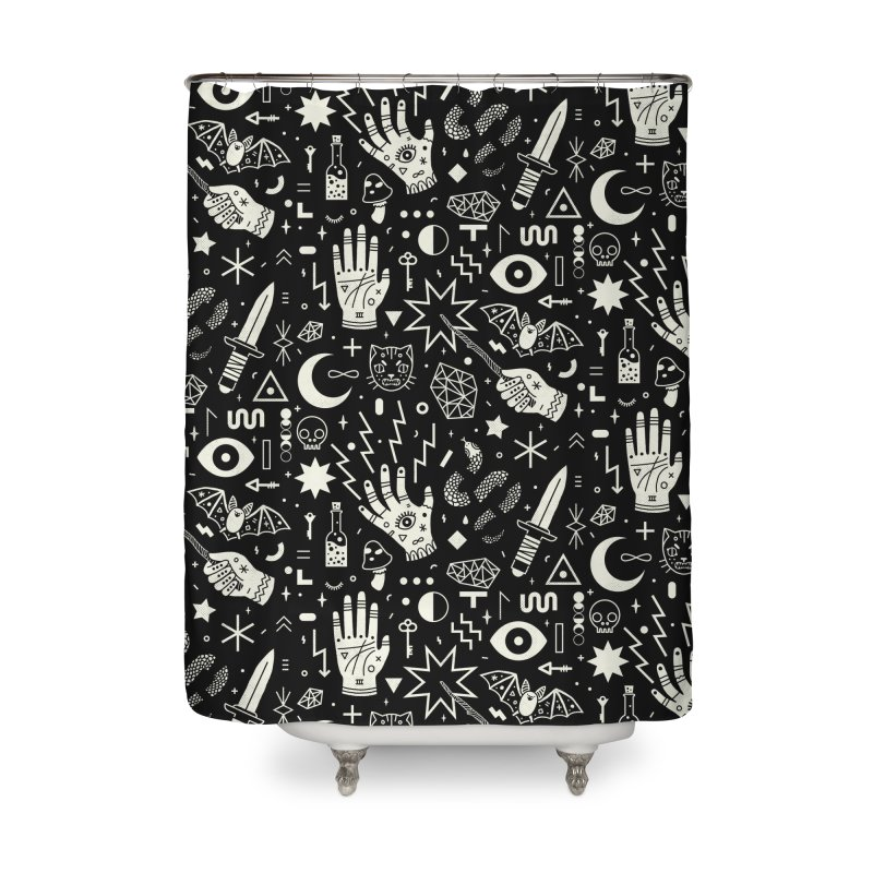 Witchcraft Home Shower Curtain by Threadless Artist Shop