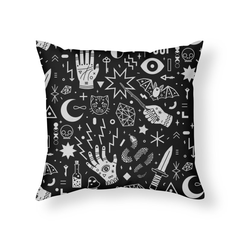 Witchcraft Home Throw Pillow by Threadless Artist Shop